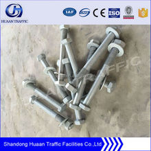 Galvanized Steel Guardrail bolt and nut