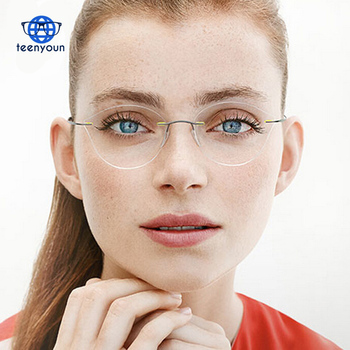 2405a00319f6 Fashion Women Cat Eye Reading Glasses Ladies Clear Lens Glasses Frame Blue  Rays
