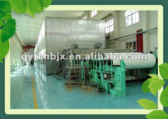 100gram A3 copy printing paper making machinery