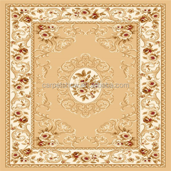 2015 new Wilton carpet and rug 100% pp material wall to wall design