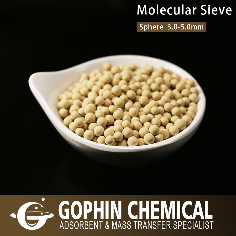 Chemicals Industry Desiccant 3A Molecular Sieve for Brew