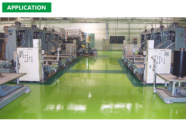 Seamless 100% Solids Clear Epoxy Resin Flakes Flooring Coating