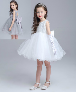S31128w Baby Girls High End Lace Free Prom Tube Party Dress Buy