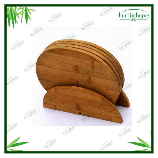 High quality Round bamboo table mats and coasters