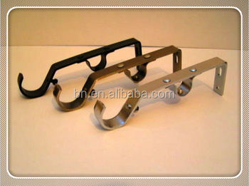 Iron Corner Bracket,Double Bracket For Curtain Rods,Decorative ...
