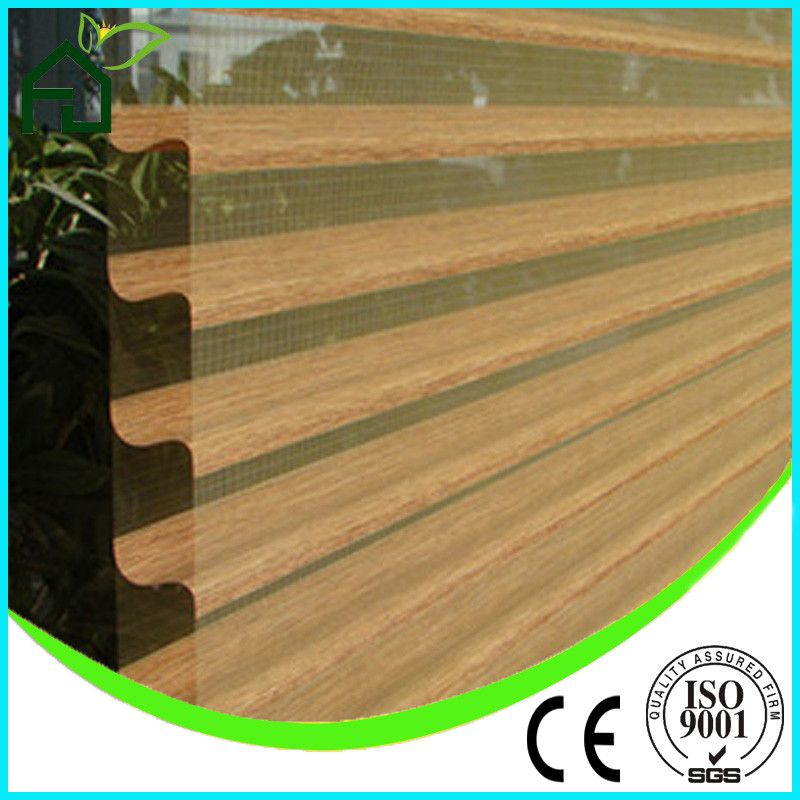 Classic good quality shangrila blinds/blackout manual wholesale garage window shangrila blinds