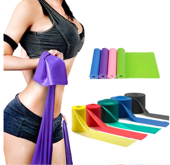 1500mm Bunte übung resistance band latex Elastische Bands gym fitness, yoga band
