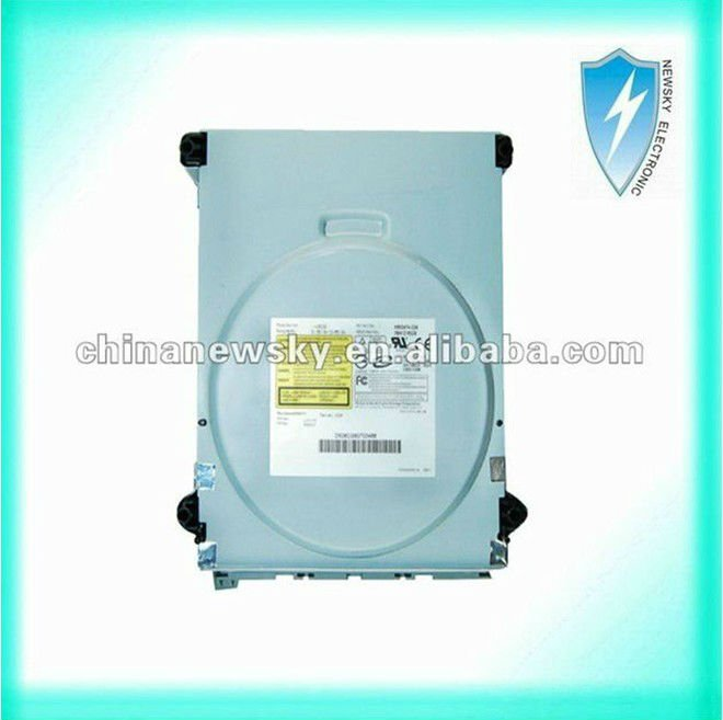 Hot selling genuine for xbox 360 dvd drive parts CD-ROM BenQ 6038