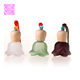 Empty Refill Diffuse Fragrance Car Ornaments Hanging Pendant With Wood Cap