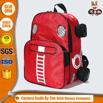 4f5a60553ea Wholesale Child Car Shaped School Bag Backpack For Boys And Girls ...