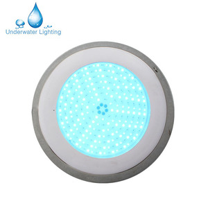 Wall Mounted IP68 Waterproof 12v RGB Pool Lamp Led Flat Underwater Light for Swimming Pool
