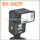 Portable BY-24ZP Li-ion Battery Camera Flash Light