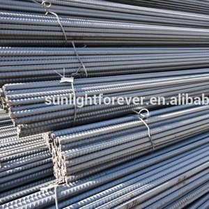 China Reinforcement rebar steel ribbed bar iron rods for construction iron price / deformed bar / steel rebar