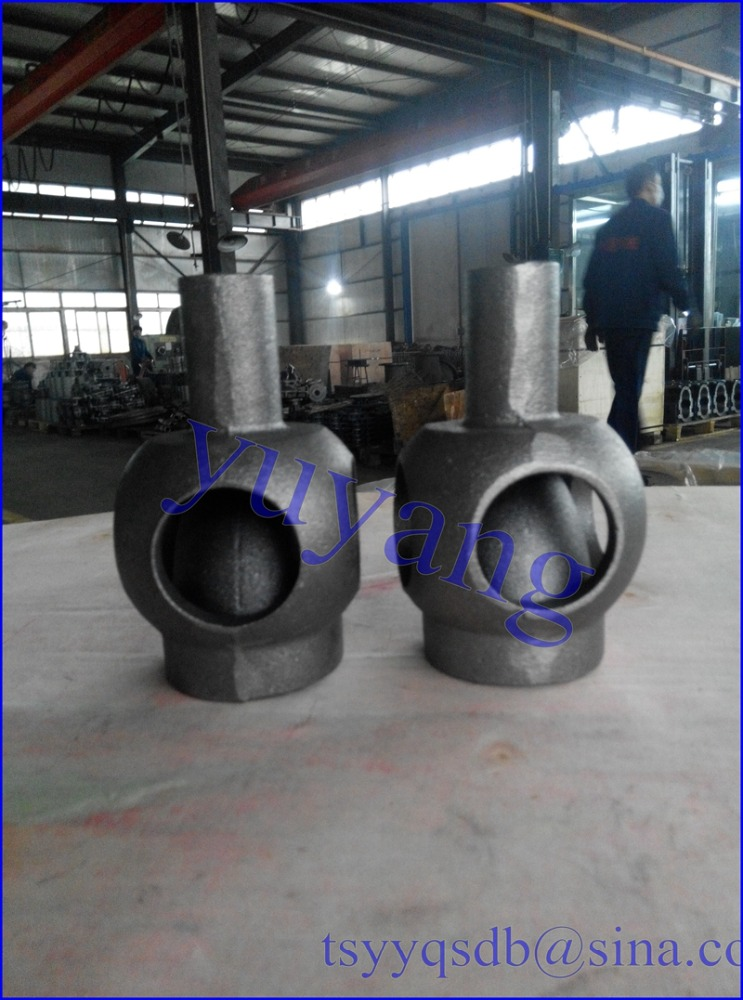 Sand Mold cast iron exhaust manifold