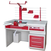 Laboratory Dental Workbench for One Dental Technician Use