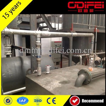 Multifunctional tyre recycling plant used fuel oil filter machine for wholesales