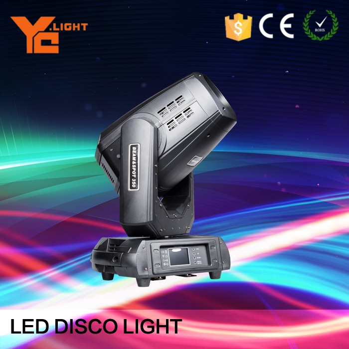 350w 17R Bulb Spot/Beam moving Head Wash Moving Head for stage