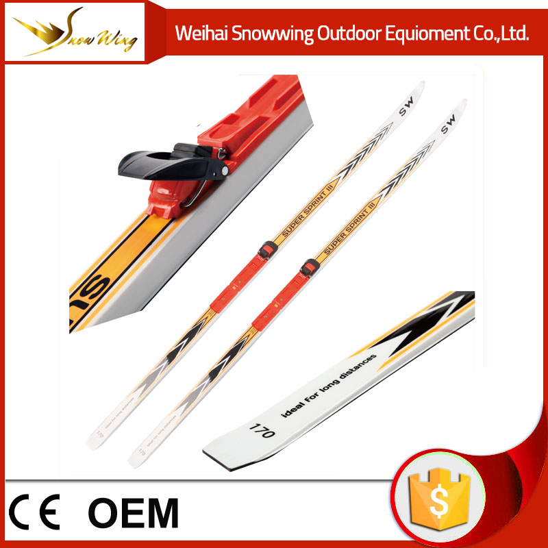 High performance glass fiber cross country ski from Weihai Snowwing