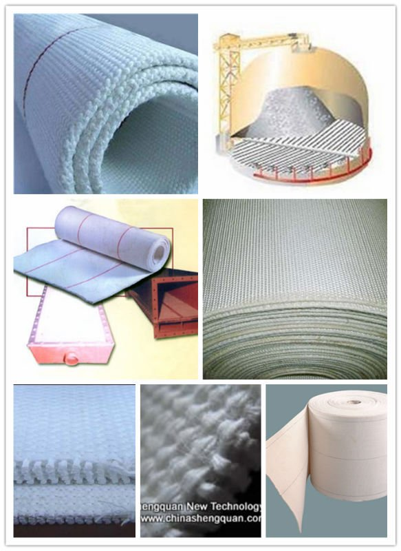 hot selling with the best quality Industrial Textile Air Slide Fabric for Cement Plant Conveyor Belt