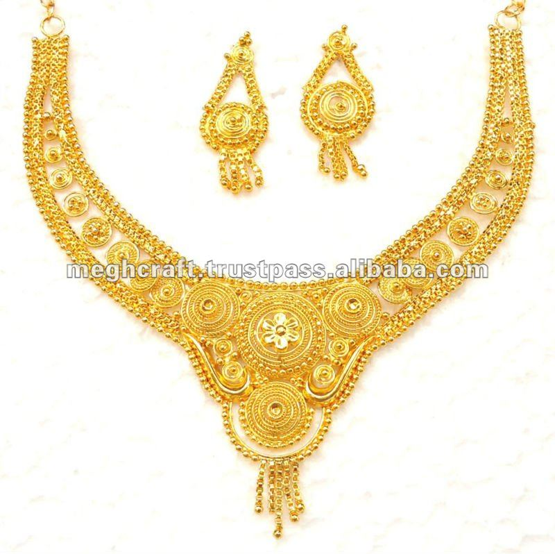 Wholesale South Indian Ethnic Gold Plated Jewelry - Imitation ...