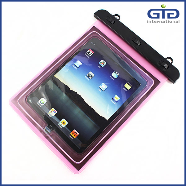 [GGIT]Clear PVC Diving Universal Waterproof Bag Case for Tablet PC Between 9.7'' to 10.2''