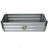 Galvanized Steel Rectangle flower raised bed for garden