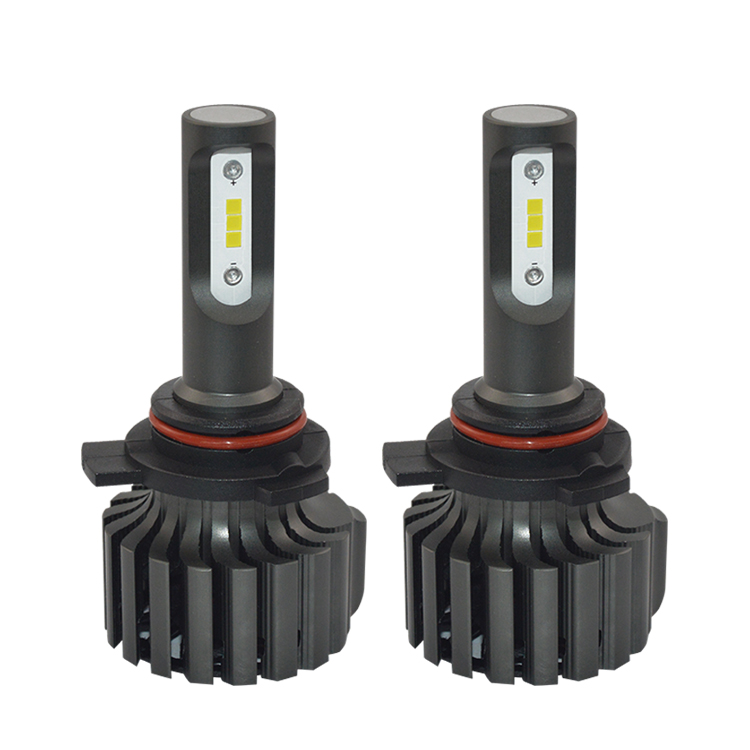 LED bar light hid projector headlight bulb V1S LED 9012 for cars