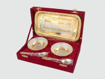 Pharmaceutical Gift Item Two Tone Dry Fruit Set Wedding In Velvet