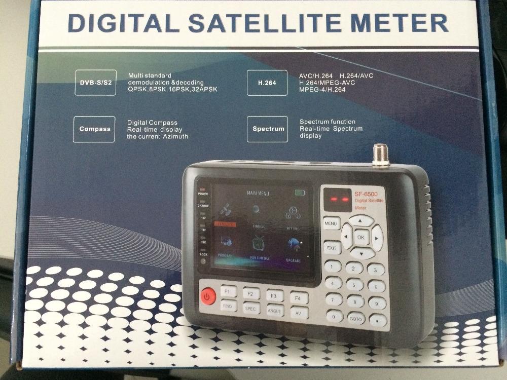 Hd Mpeg-4 Satellite Signal Finder Meter Support Dvb-s2 - Buy Hd Satellite  Finder Meter,Digital Satellite Finder Meter,Satellite Dish Finder Product  on