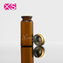 Manufacturing 10ml Mini Glass Vial for Steroids Flip Off Top Rubber Stopper Tubular Glass Vial