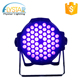 Offer professional stage lighting solution 54*3W uv light for party disco christmas