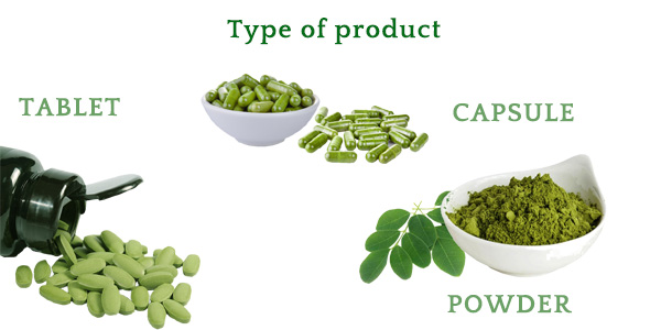 Lifeworth organic bulk moringa powder