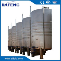 glycol jacketed and agitated wine fermenter