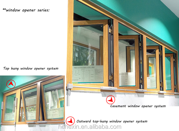 High Window Outward Opening Manual Hand-operated Window Opener:HJ1500(One Tow Four)