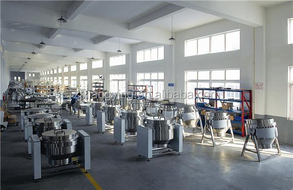 Xydg- 150 centrale keuken roestvrij staal kantelbaar industriële ...