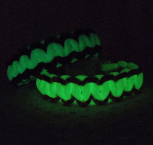 Fashion DIY Luminous Parachute rope survive bracelet