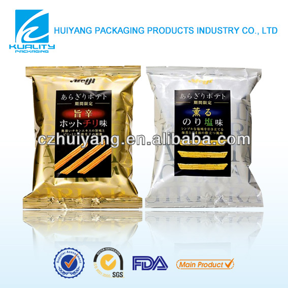 Gravure printed auto packaging foil bag for vermicelli
