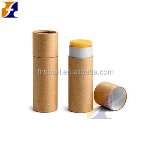 OEM Empty makeup eco kraft paper lipstick lip balm tube custom lip gloss packaging TOTALLY CUSTOMIZED