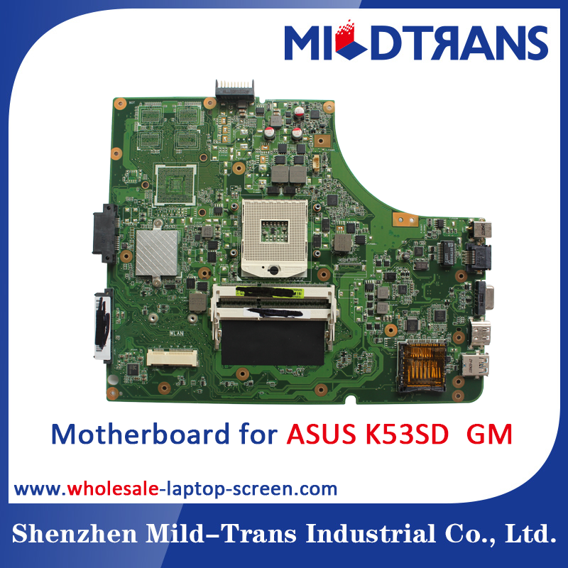 100% testing laptop Motherboard for ASUS K53SD GM