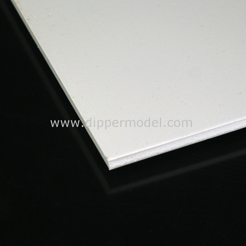 0.3mm~10mm thickness ABS sheet for architectural model materials
