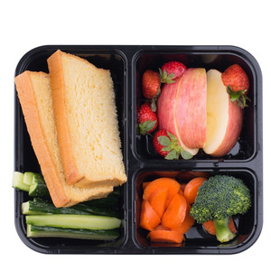Takeaway Microwaveable food container and tray for restaurant
