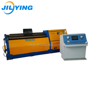 CNC 3-roller 4 rollers Universal Hydraulic Steel Plate Rolling Machine for Bending round