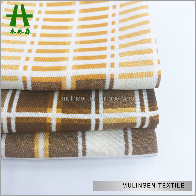 Shaoxing Factory New Design For Woven Printed Wool Peach, Textile fabric dubai