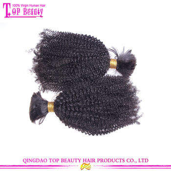 Afro Kinky Bulk Hair Wholesale Bulk Human Hair Extensions Without Weft 52560412a002