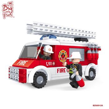 Educación Construcción 2017 bombero De Nuevo Para Buy Bombero Conjunto Niños Producto Bombero Juguetes Bloques Plástico LqGzMSVpU