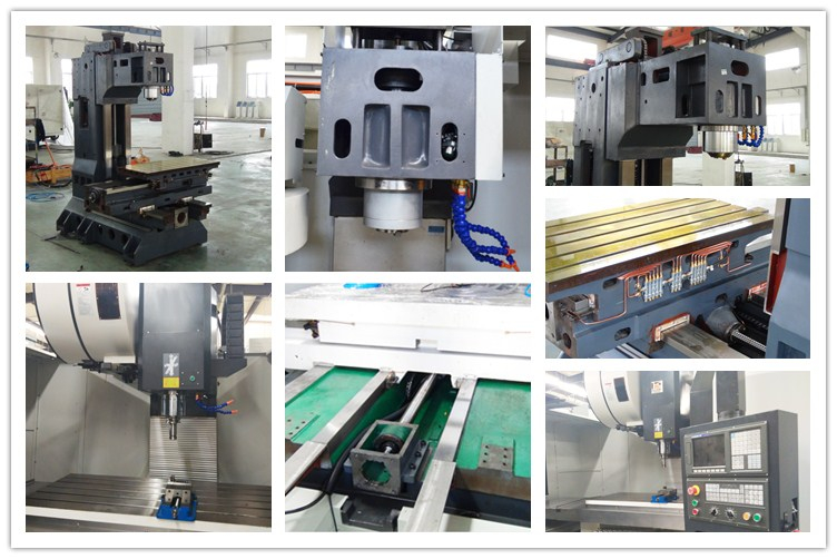 MV850 CE Certificated Toy Robot Transformer CNC VMC Frame 5 Axis Vertical Machining Center