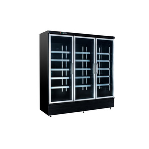 Refrigerated Cabinet 3 Door Showcase Refrigerator Used