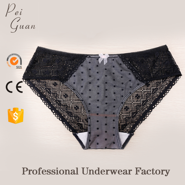2017 new comfortable lace sexy cheap wholesale panties for lady