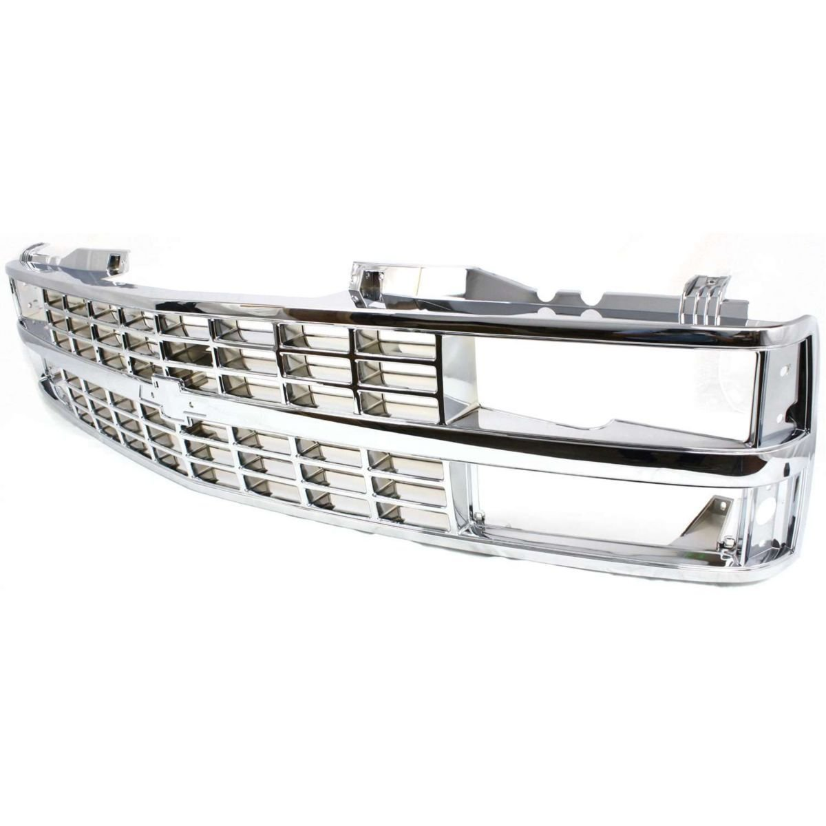 Diften 102-A6103-X01 - New Grille Assembly Chrome Suburban Full Size Truck Chevy Chevrolet R1500 R3500