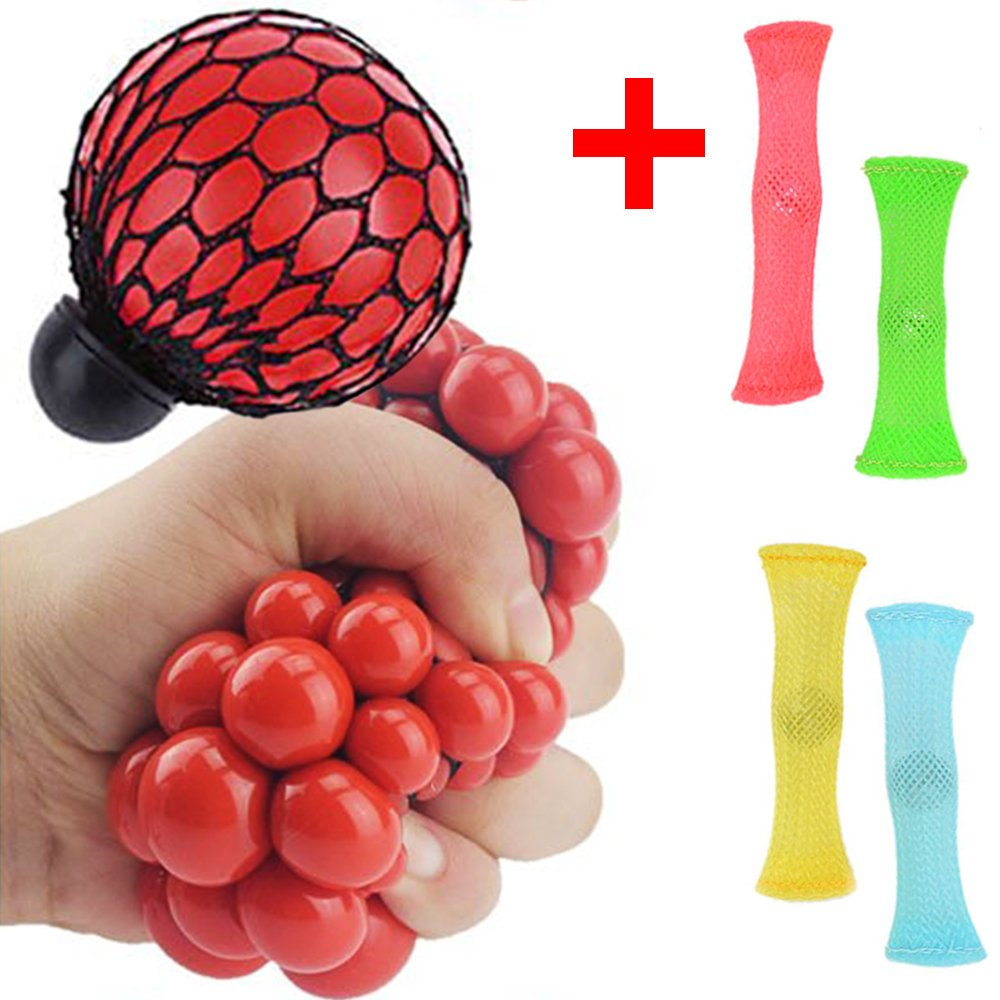 Buy Stress Relief Ball 4 Fidget Toys Anti Stress Squeeze